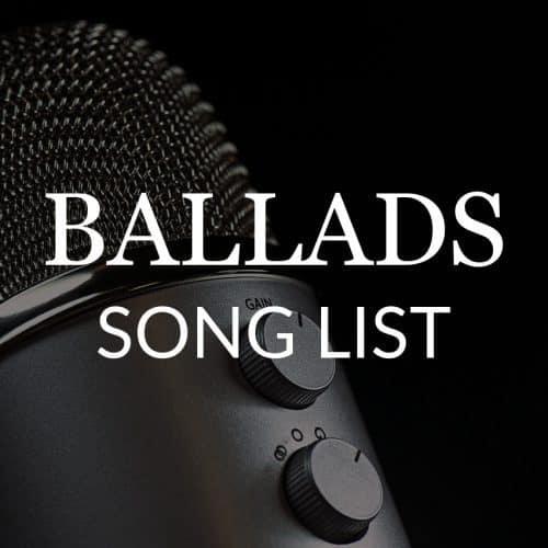 ballads-song-list