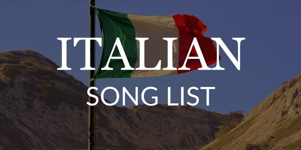 italian-song-list