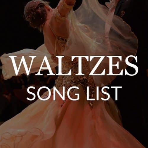 waltz-dance-song-list